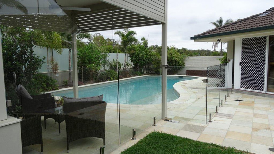 Frameless Glass Pool Fencing Diy Pool Fencing Brisbane Gold Coast